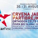 SuperStar FEST krajem avgusta: Partibrejkers, Bad Copy, Orthodox Celts, Crvena jabuka, Čovek bez sluha i...